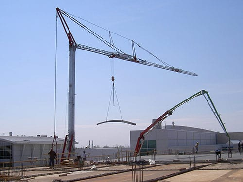 Self Erecting Cranes
