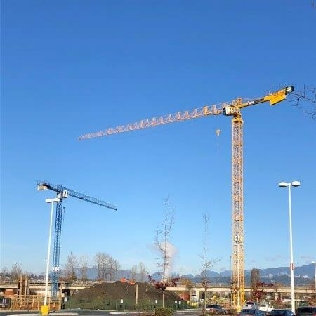 portable tower crane rental