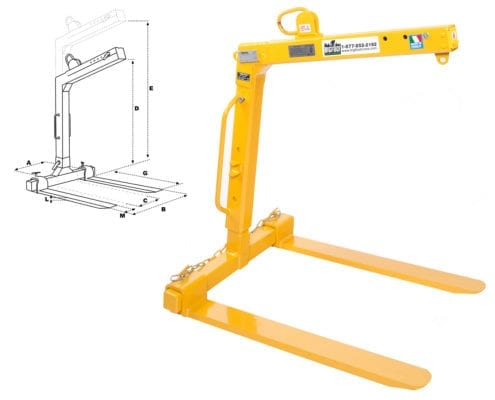 Auto Leveling Pallet Forks